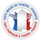 100% Made in Thiers France carte de France
